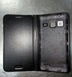 Флип-кейс для Samsung j1 mini. Оригинал. Новый.