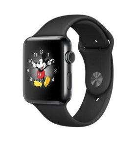 Apple Watch Sport black, 42mm, series 2