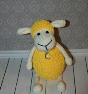 Продам овечку связаную своими руками с душой