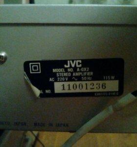 Усилитель с колонками JVC model NO A-GX2 Германия