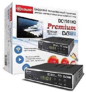 D-COLOR DC1501HD DVB-T/T2 DOLBI DIGITAL PLUS