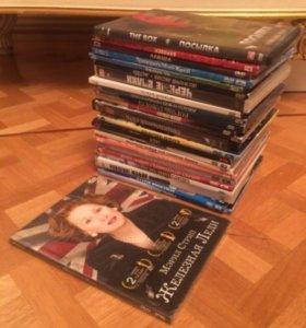 25 дисков двд dvd фильмы пакетом