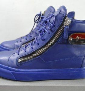 Кроссовки Guiseppe Zanotti design sneakers 41