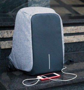 Рюкзак Антивор Bobby /Бобби с USB. Люкс