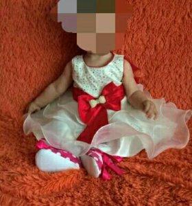 Детское шикарное платье