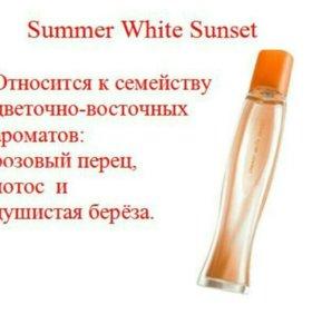 Avon Summer White Sunset. Новая