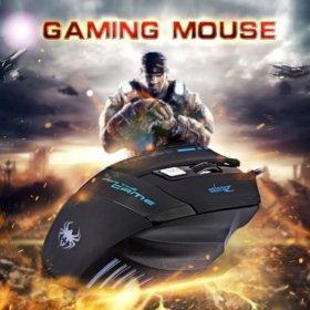 Новая игровая мышь 7 цветов в 1кнопок 7