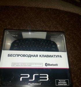 Беспроводная клавиатура PS3