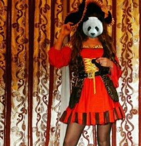 """Новогодний костюм """"Пиратка"""" для взрослого"""