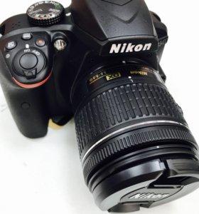Фотоаппарат зеркальный nikon dslr D 3400 + AF - P