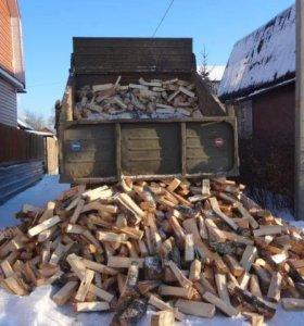 дрова ,угль.