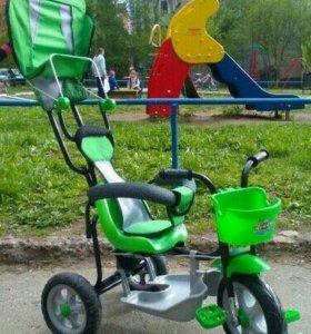 Велосипед детский с толкателем