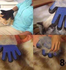 Тру Тач Перчатка для вычесывания шерсти