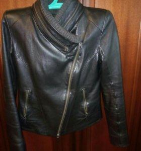 Куртка женская кожа лайкра