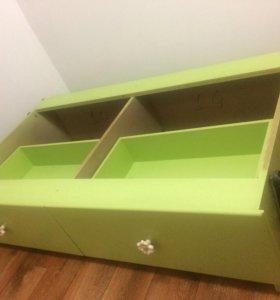 Детская кроватка от 0 до 4 лет