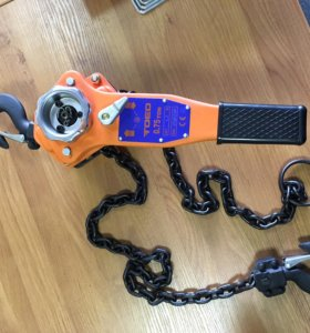 Новая рычажная таль (цепная лебедка) 750 кг SF4:1
