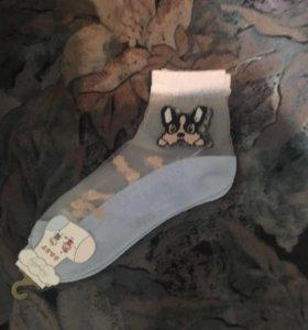 Новые носки с этикеткой