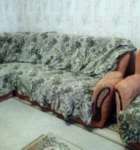 Комплект на мягкую угловую мебель