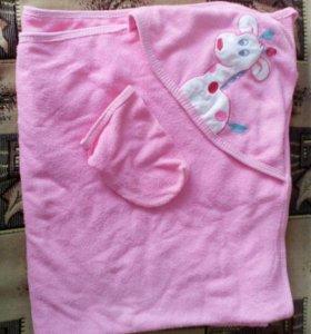 Продам детское полотенце-уголок для девочки