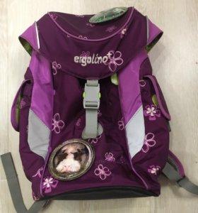 Рюкзак ортопедический, легкий -500гр, для 4-7 лет.