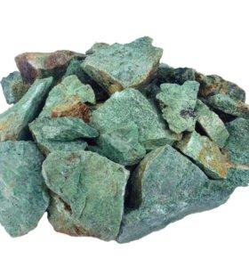 Камень для бани и сауны Жадеит колотый (Башпечи)