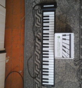 Силиконовая midi клавиатура