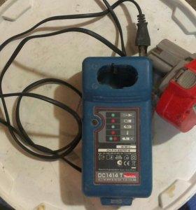 Заурядное устройство с аккумулятором Макита