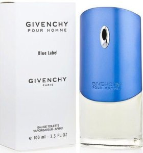 "Givenchy ""Pour Homme Blue Label"", 100 ml (тестер)"