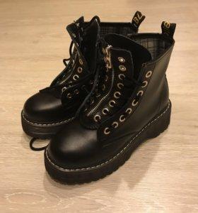 Ботинки,новые,осень