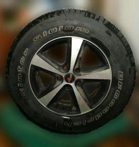 Комплект зимних колёс BFGodrich на Санта Фе l