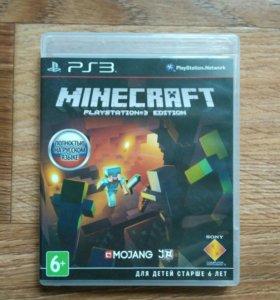 Диск Minecraft PS3