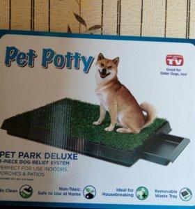 Лоток для туалета собак pet potty