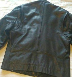 Куртка кожаная (vachetta leather)