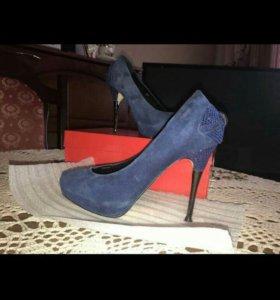 Туфли замша 35 размер