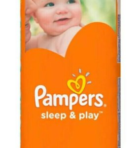 Pampers Sleep&Play 58 шт(5-9кг)