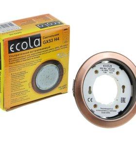Встраиваемые потолочные светильники GX53 Ecola