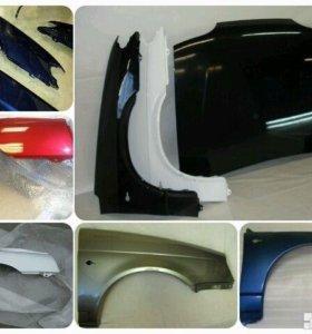 ВАЗ 2114 2115 бампер крыло капот в цвет фара