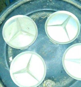 Колпачки на литые диски, оригинал Мерседес