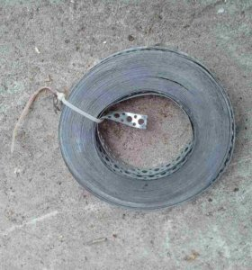Перфолента (лента монтажная) оцинкованная