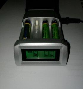 Зарядное устройство аа ааа с ЖК дисплеем