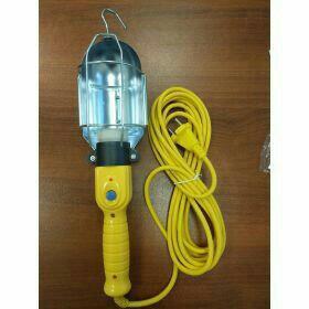 Светильник переноска, цоколь Е27, с проводом 10м