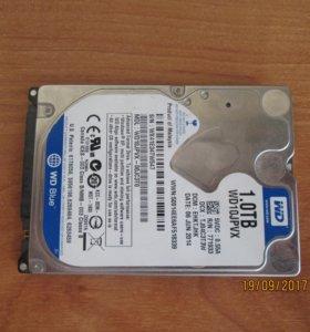 Жесткий диск WD Blue WD10JPVX 1 ТБ