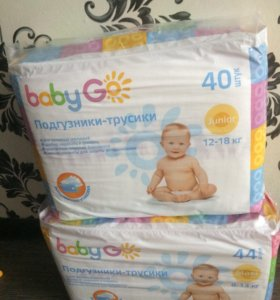 Памперсы-трусики BabyGo 4;5