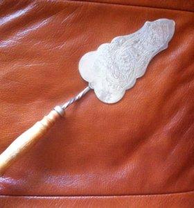 Лопатка мельхиоровая