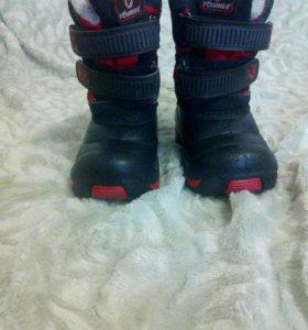 Классные ботинки на мальчика !!!