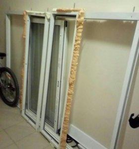 Балконные окна от застройщика
