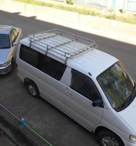 багажник на крышу с лестницей