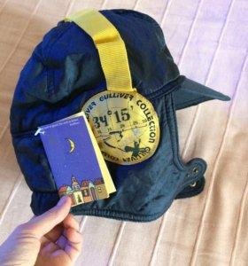 Тёплая шапка Gulliver новая