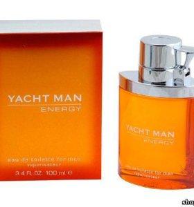 Yacht Men Energy муж т.в 100 мл тестер