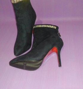 Ботильоны ботинки новые женские